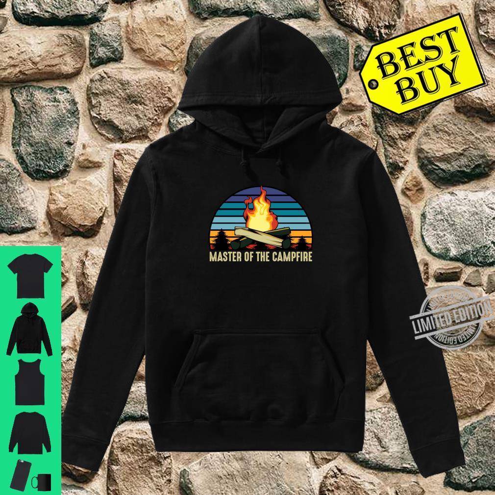 Master of the Campfire Camping Stellplatz Zelten Urlaub Langarmshirt Shirt hoodie
